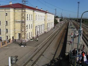 Железнодорожные станции